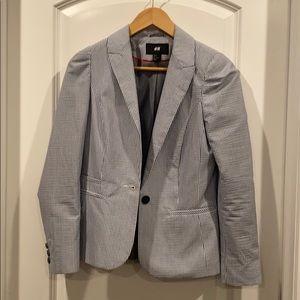 H&M Blazer Pinstripe